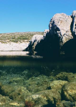 Panagia Faneromeni beach, Antiparos