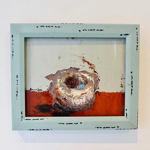 8x10 (12x10), Nest on canvas