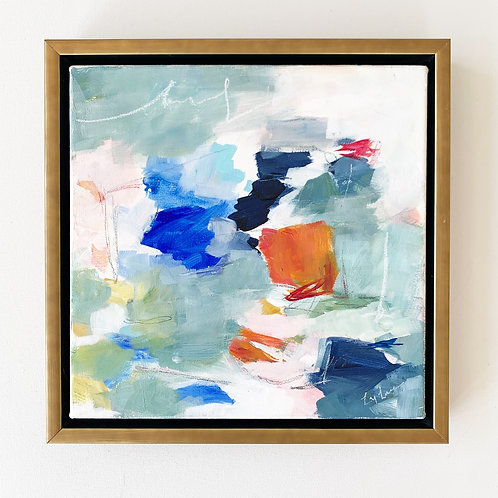 """San Juan"" 13.5x13.5 framed"