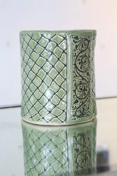 Sister Art Pottery l handbuilt vase l Birmingham, AL l contemporary art gallery