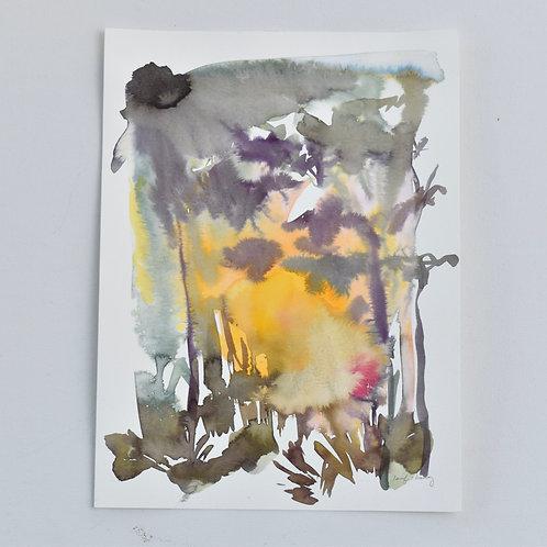 9x12, Watercolor