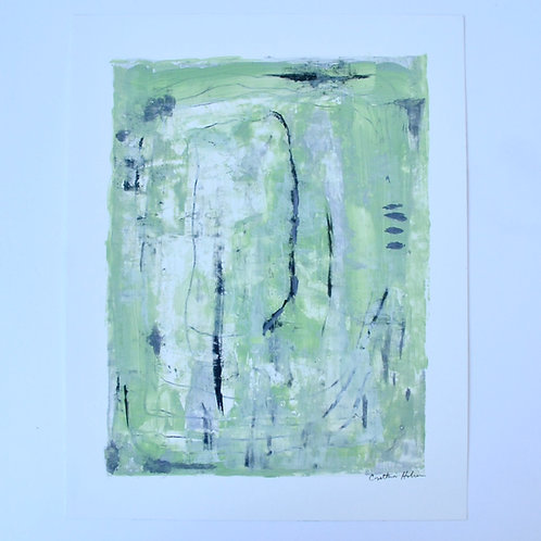 11x14, Springtime Green