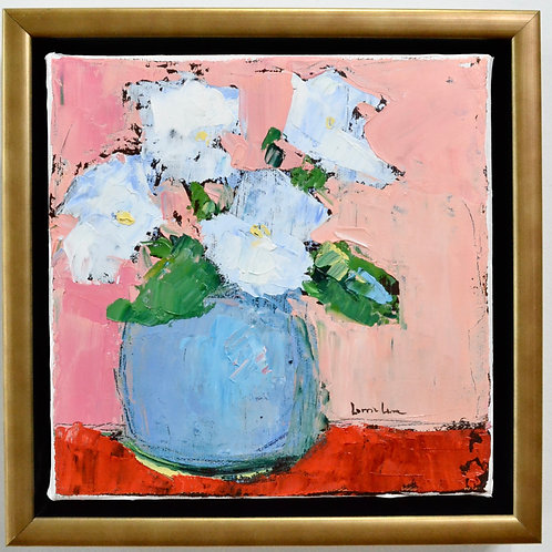 10x10, Flowers in Pink
