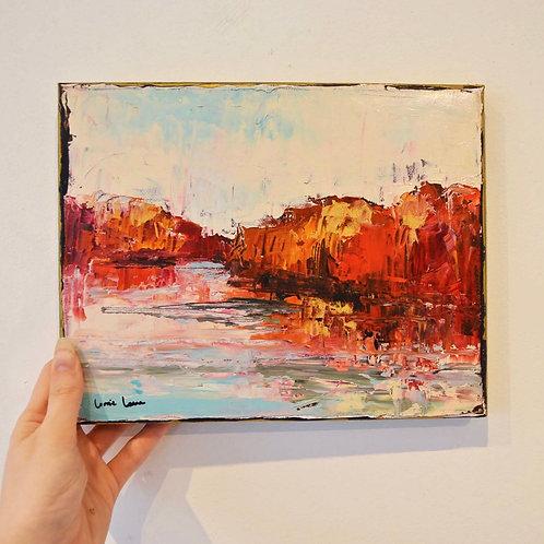 8x10, Landscape on paper