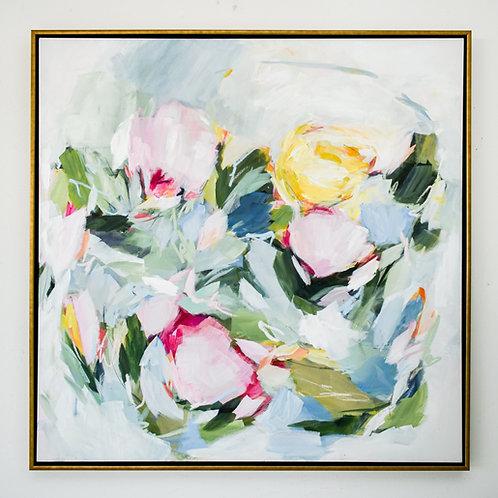 """Asheville Flowers"" 48x48"