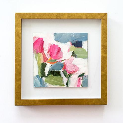 Margarita Monday, framed 13x13