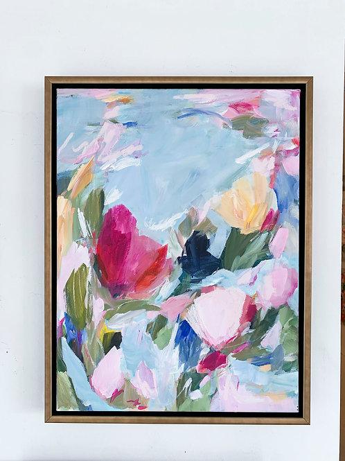 Three's Company, 20x26 framed