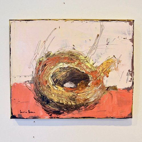 8x10,Birds Nest on canvas