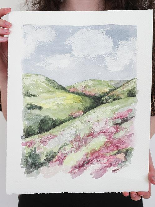 11x14, Lanscape watercolor