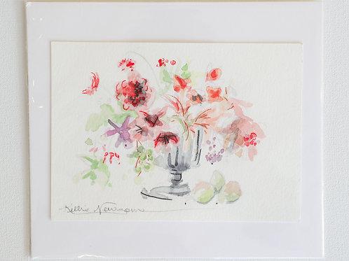 5x7, Watercolor Floral