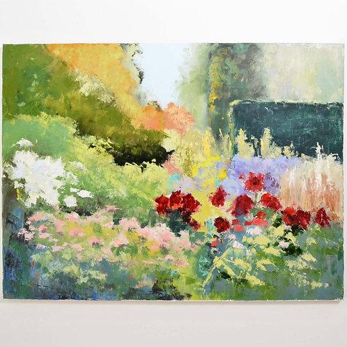 36x48, May Garden