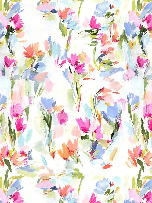 """Floral #5"" - Wallpaper"