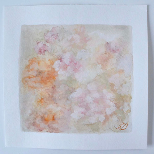 8x8, Peach Blossoms