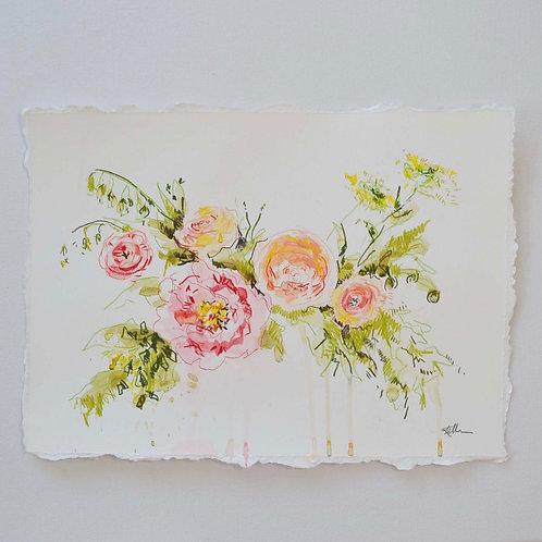 10x14, Floral Bouquet
