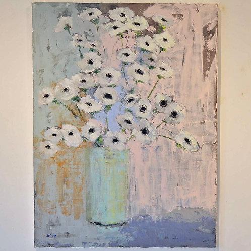 36x48, Vase of Flowers