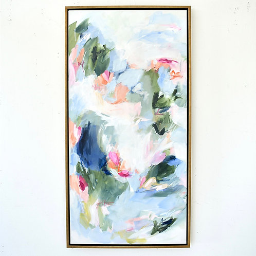 Waves of Flowers, 24x48