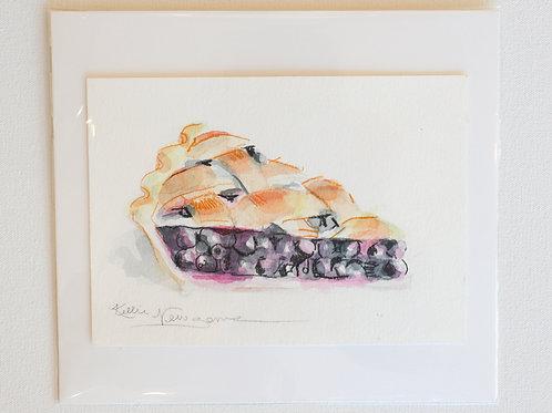 Food Illustration on Paper, 5x7