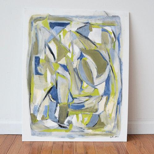 24x30, Blue Prism