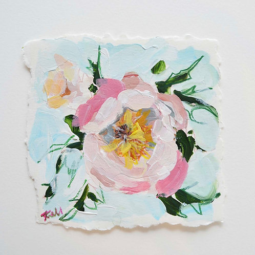 4x4, Floral on paper