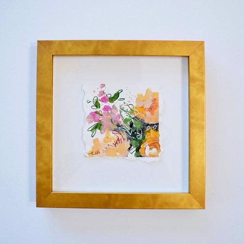 Framed Floral, 9.25x9.25