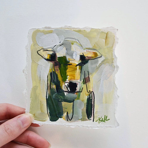 4x4, Cow on paper