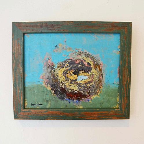 8x10 (10x12), Nest on Canvas