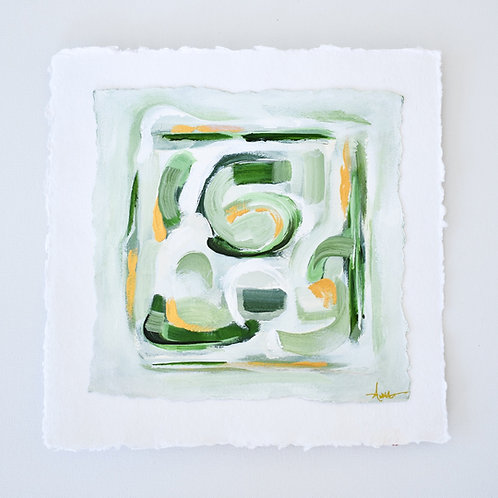 "10x10, ""Emerald Garden"""