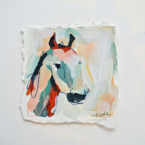 4x4, Horse on paper