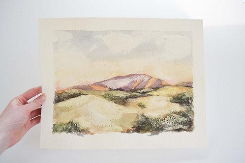 11x14, Landscape watercolor