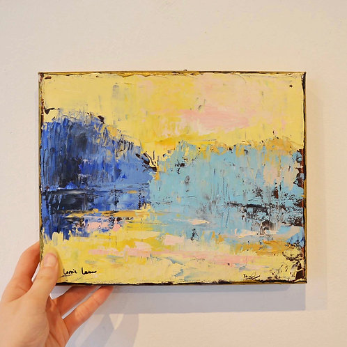 8x10, Landscape on canvas