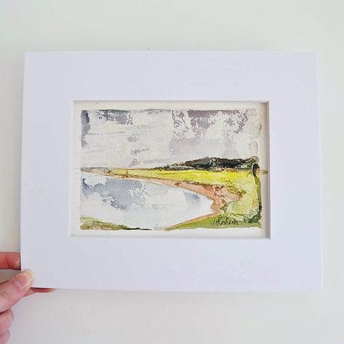 4x6 (8x10), Landscape watercolor