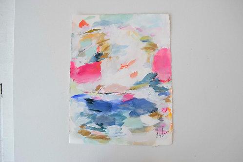 Ariel's Treasures- 11.25x15 work on paper