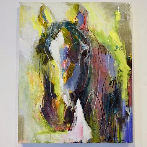 16x20, Horse on canvas