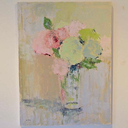30x40, Pastel Floral