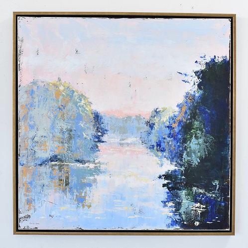 36x36, River Scene