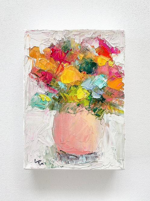 5x7 , mini floral