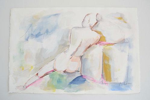 15x22, Reclining Nude