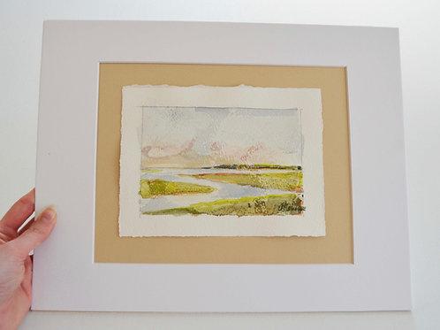 4x6 (11x14 matte), Landscape watercolor