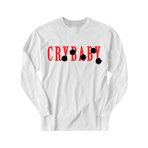 Crybaby Shoot Back Long Sleeve T-Shirt