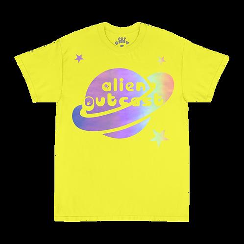 Alien Outcast Crybaby Galaxy T-Shirt