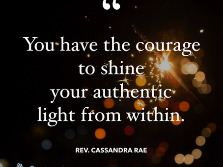 The Authentic Light from Within