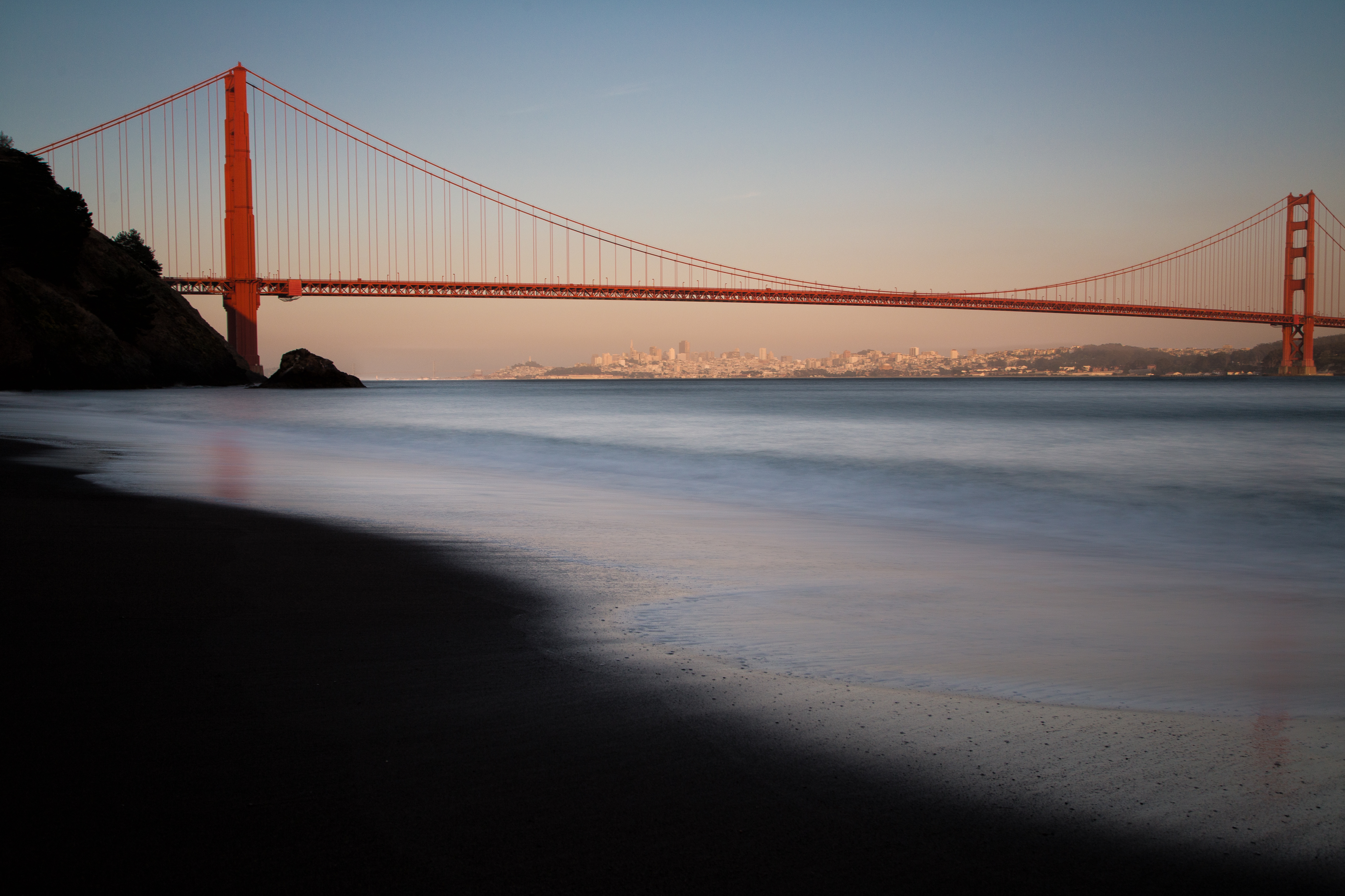 Golden Gate Bridge Sunset_27694522804_o