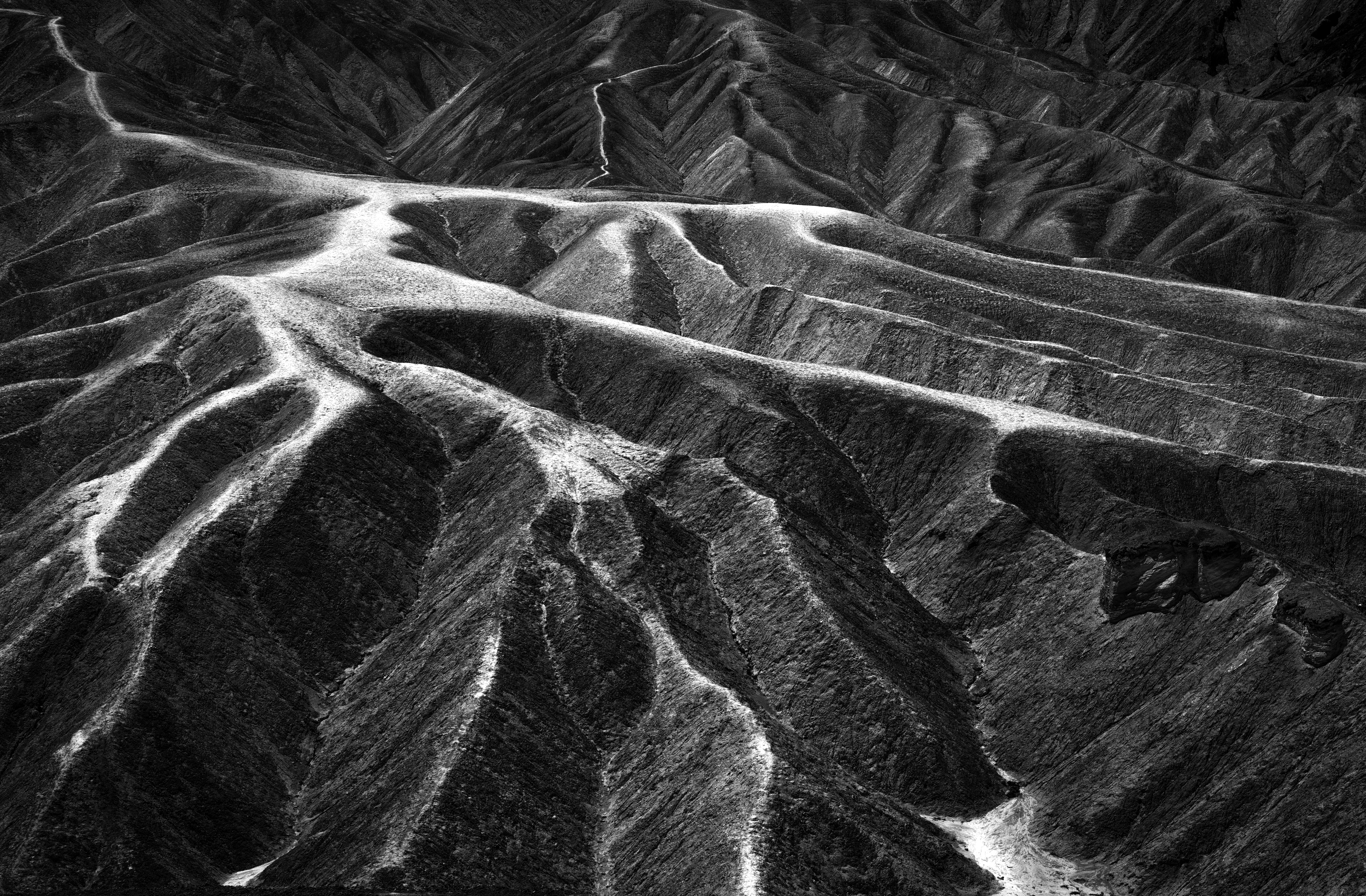 Zabriskie Point b&w