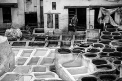 Fez Leather processing
