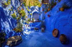 Chefchaouen Courtyard