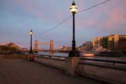 Sunset on Tower Bridge