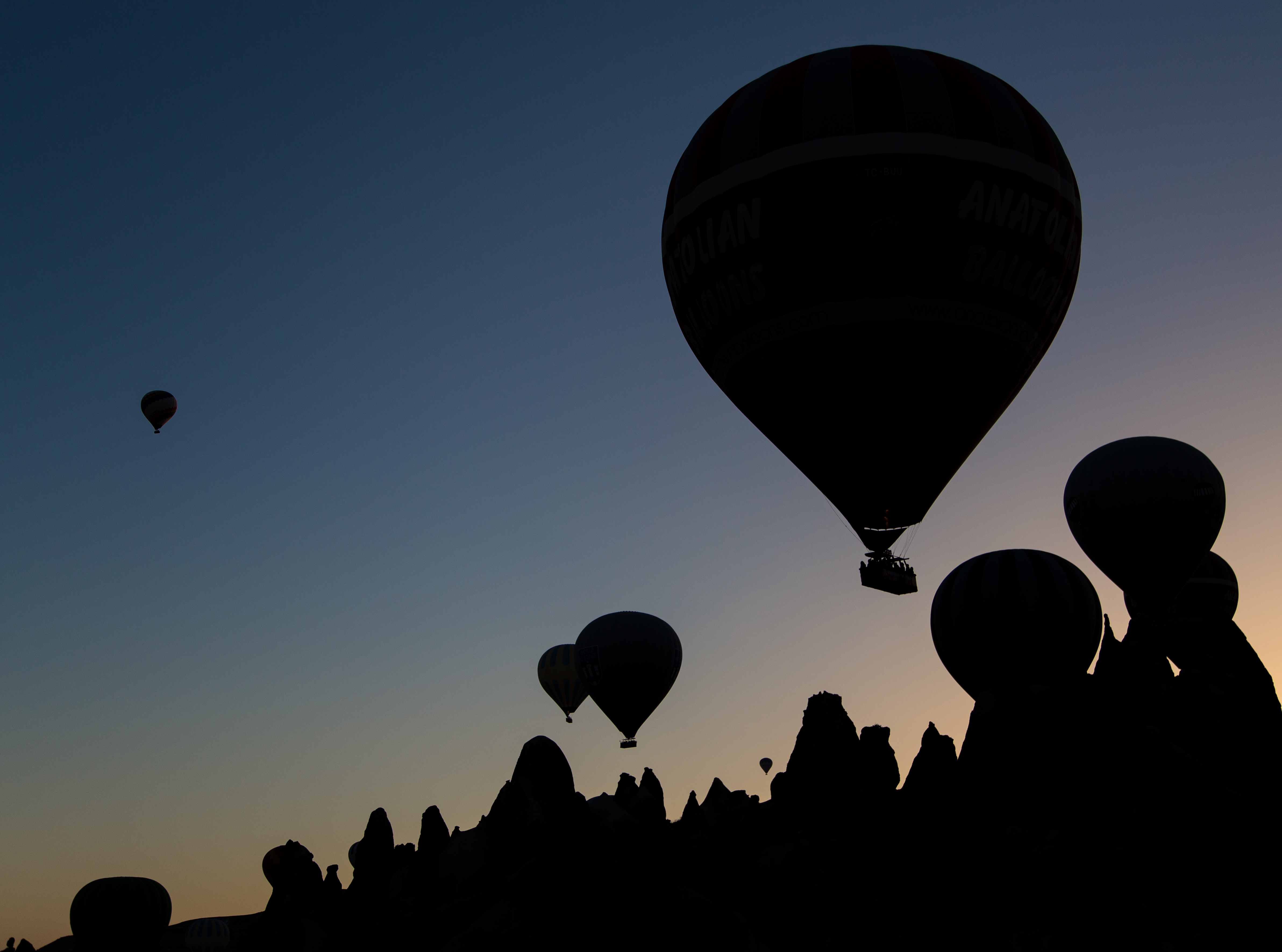 Ballooning Silhouette