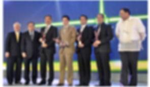 Mr. Freeze wins the 2012 Meralco Luminary Award
