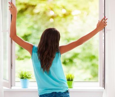 Richtig Lüften für gesunde Innenraumluft