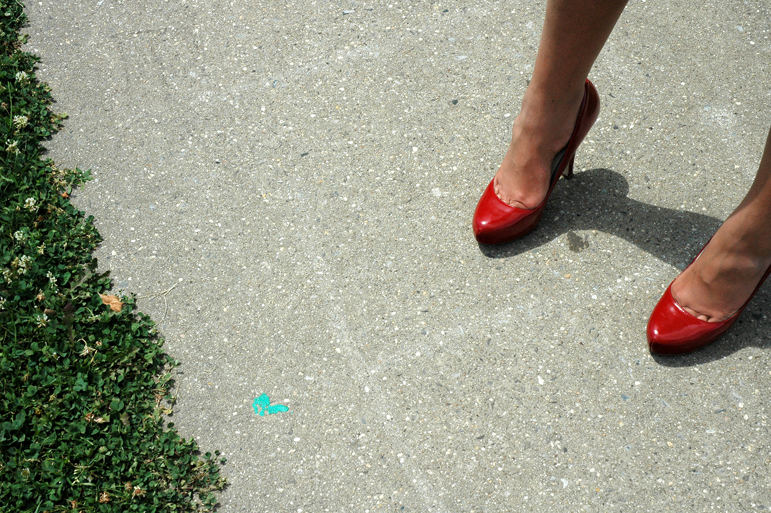 "Amanda's Red Shoes, from "" Feet"""